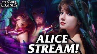 🌸Играем с Алисой🌸 → League of Legends Stream / Лига Легенд стрим