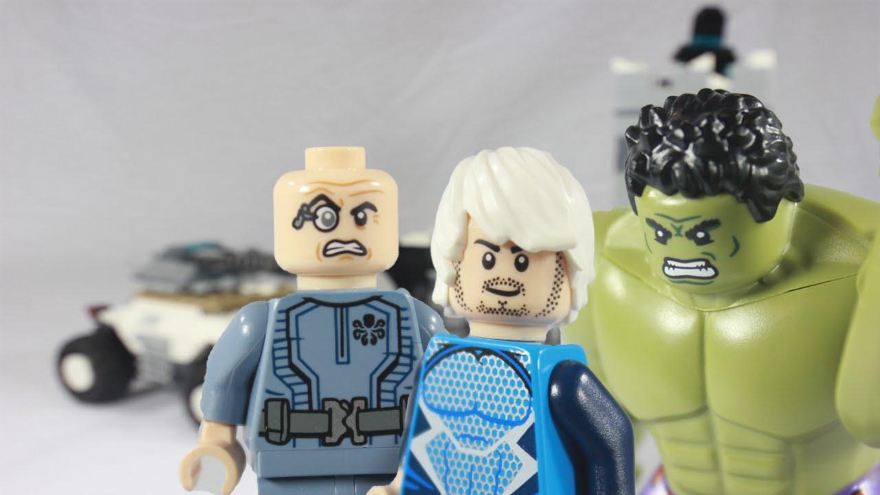 lego avengers age of ultron hydra fortress smash 76041