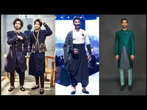 Party wear dresses for men/Sherwani/Suit/ Kurta Pajama Designs/Indo western dresses for men - FSHC