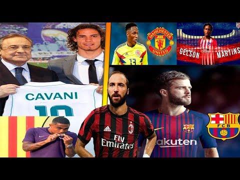 MERCADO DE FICHAJES 2019 CONFIRMADOS y rumores! Pjanic, Gelson Martins, Cavani y mucho más!