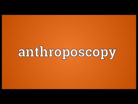 Header of anthroposcopy