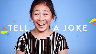 100 Kids Tell a Joke | 100 Kids | HiHo Kids