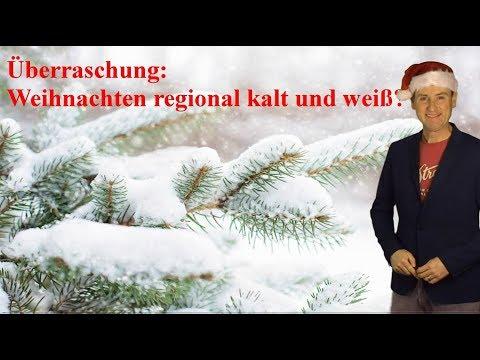 Weihnachten 2018 regional doch noch kalt und weiß? (Mod.: Dominik Jung)