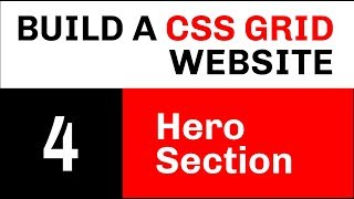Build a CSS Grid Website // Video 4