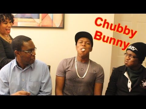 Thumbnail: CHUBBY BUNNY CHALLENGE WITH FAMILY
