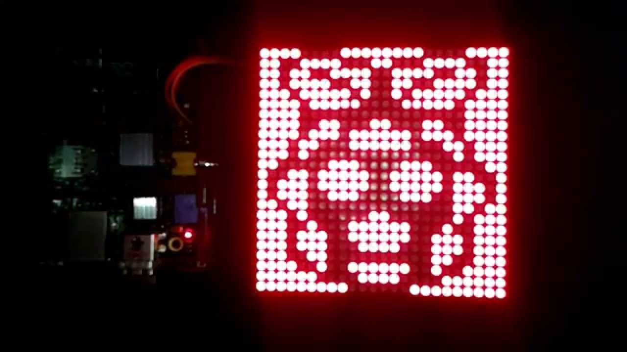 Raspberry Pi LED Matrix Library - Installation for multiline m x n