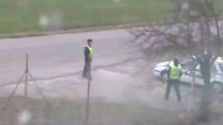 Funny Video | Bored Policemen