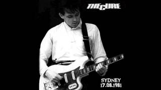 The Cure - The Drowning Man (live) Sydney 1981