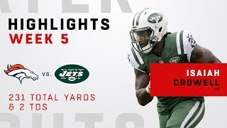 Isaiah Crowell Highlights vs. Broncos