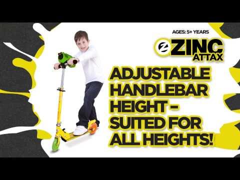 Zinc Attax Inline Scooter
