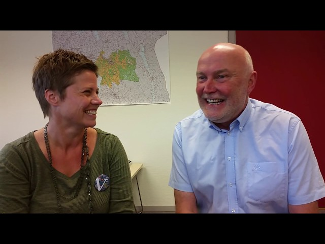 Østfold Bondelag i samtale med Maren Hersleth Holsen fra Venstre før Stortingsvalget 2017
