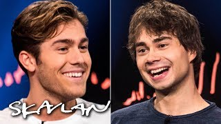 Eurovision's Rybak and Ingrosso do talk show interview together | English sub. | SVT/NRK/Skavlan