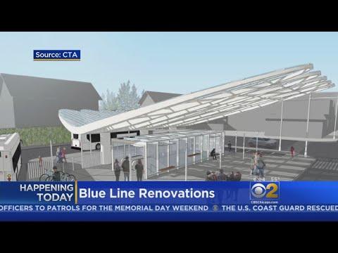 CTA To Begin Improvements At Belmont, Jefferson Park Blue Line Stations