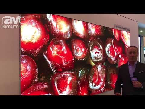 Integrate 2017: LG Showcases Its LED Smart Signage Displays for Indoor and Outdoor