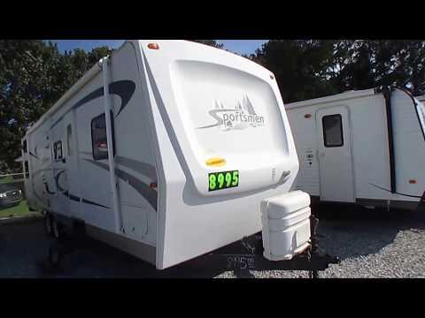 2006 KZ Sportsmen 3204 Travel Trailer, Quad Bunks, Slide Out, Clean Family Camper , $8,995