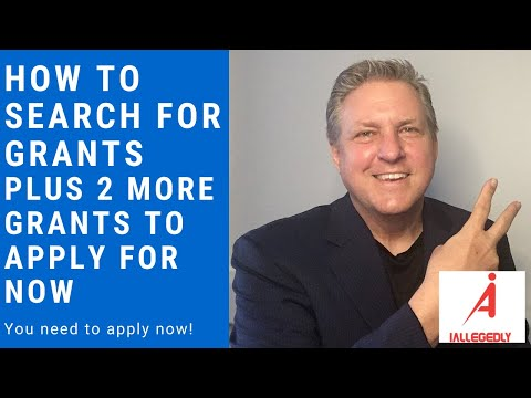 How To Search For Grants. Plus 2 More Grants You Can Apply For Now.