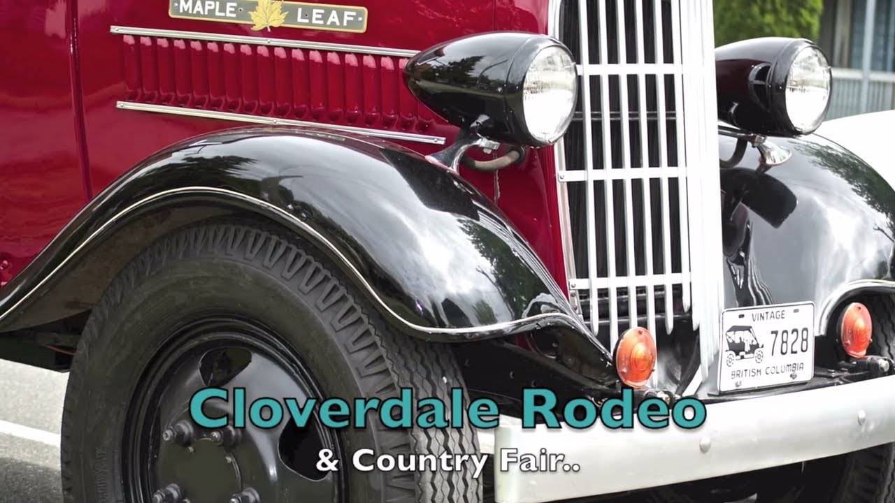 Vintage and Antique Trucks and Cars @ Cloverdale Rodeo - YouTube