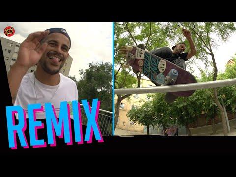 Blake Johnson's FULL part REMIX'd! Better Than The 1st? Til The End Vol. 3| Santa Cruz Skateboards