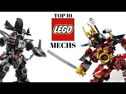TOP 10 Lego MECHS