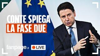 La conferenza stampa del premier Giuseppe Conte del 26 aprile 2020