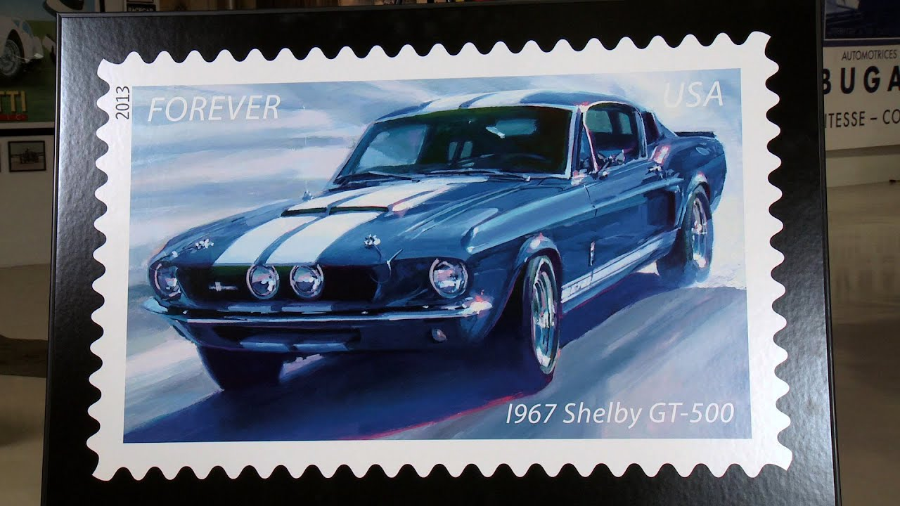 Usps Muscle Car Postage Stamps Jay Leno S Garage