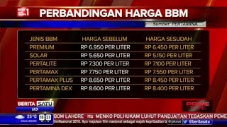 Daftar Baru Harga BBM