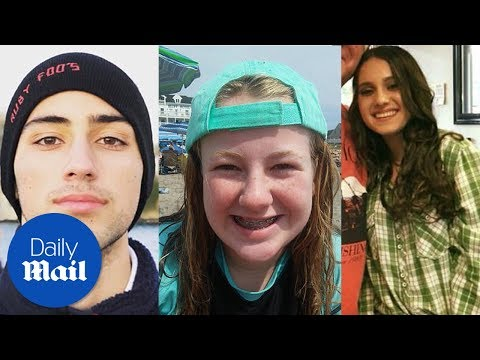 These are the victims of the Florida school shooting – Daily Mail