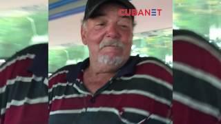 """Arenga de un borracho cubano: """"Queremos que Maduro siga siendo el jefe de Venezuela"""""""