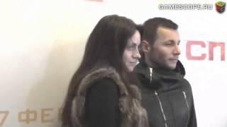 В.Манучаров на премьере фильма Спираль 25.02.14