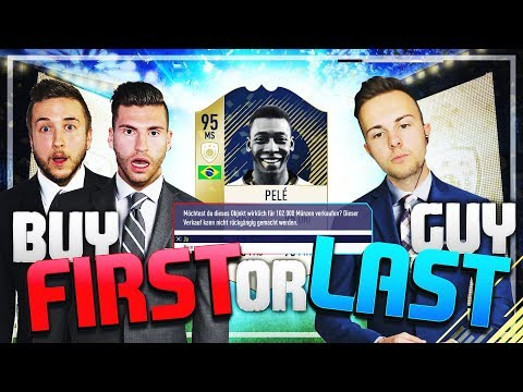 FIFA 18: Icon PELE Buy FIRST or LAST Guy DISCARD Challenge vs GAMERBROTHER 😳😱