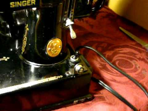 dating singer featherweight sewing machines