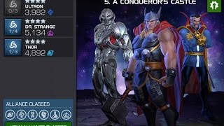 the quest for t4cc aq map 5 day 5 run and kang boss battle   marvel contest of champions