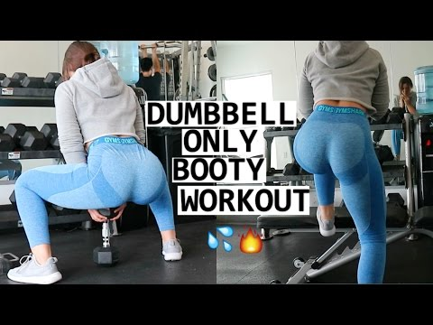 Dumbbell Only LEG WORKOUT |Booty & Hamstrings|