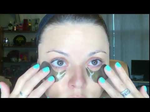 Beau Green Hydrogel S A Cucumber & Black EYE PATCH
