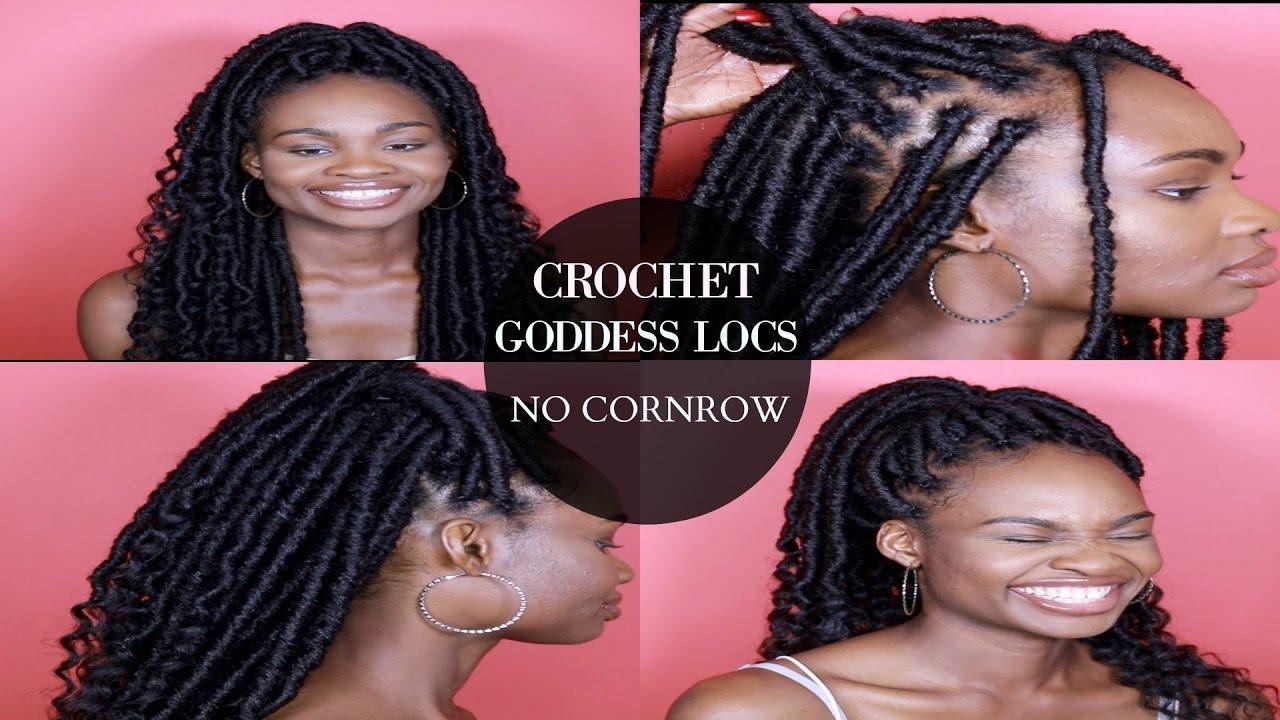 New Method Individual Crochet Goddess Locs No Cornrows 5 Easy