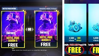"How to UNLOCK ""SEASON 6 BATTLEPASS"" for FREE! - Fortnite Battle Royale"