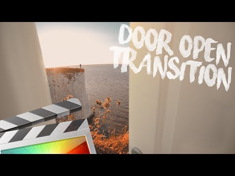 Door Open Transition - The Secret To Mask Transitions - Final Cut Pro X