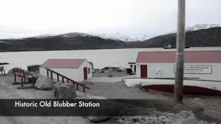 Drive Through Pangnirtung Nunavut