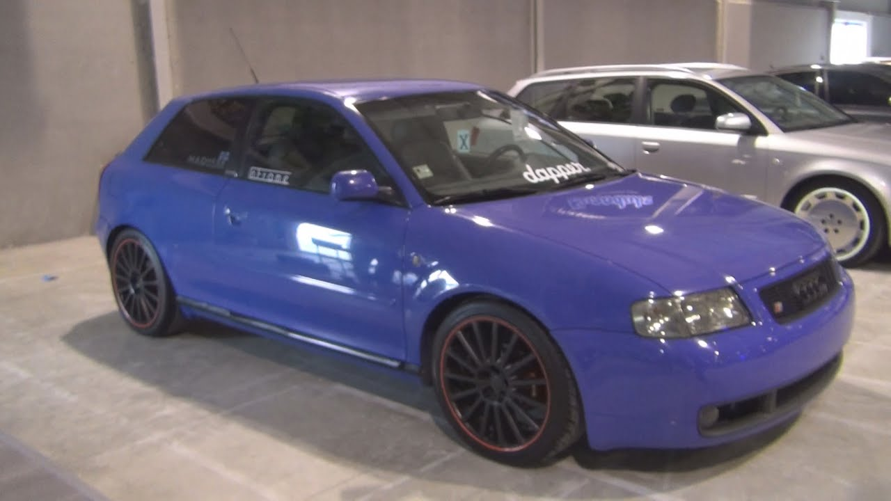 Audi A3 Tuned S3 1999 Exterior And Interior In 3d Youtube