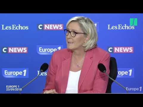 """Le Pen """"n'est pas Benalla"""", qui doit aussi se soumettre à une expertise psychiatrique selon le JDD"""