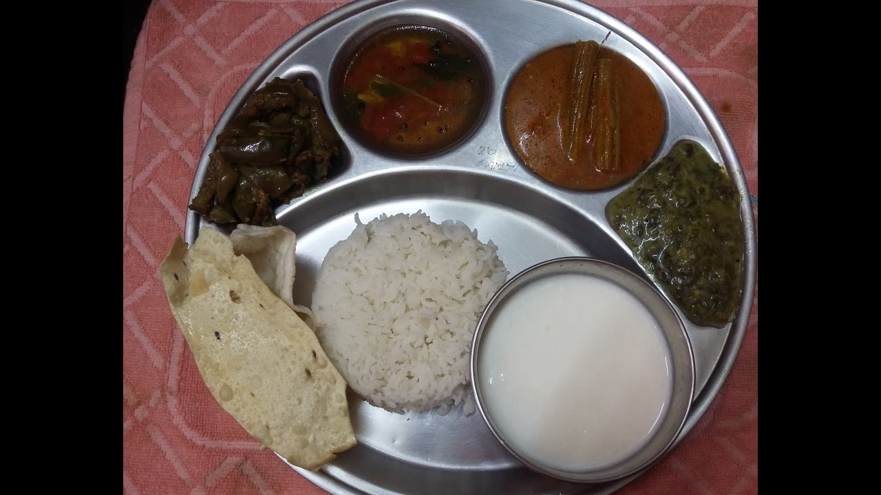 Full meals recipe in tamil video 1 in aathusamayal south indian full meals recipe in tamil video 1 in aathusamayal south indian full mealsthalilunch menu forumfinder Choice Image