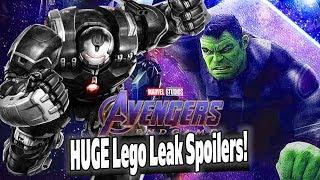 HUGE Avengers Endgame Spoilers in NEW Lego Leak! PLUS: Eternals Movie Update