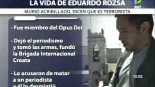 Vil Ajusticiamiento de Eduardo Rózsa Flores en Bolivia