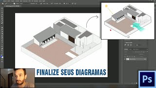 Tutorial: Como finalizar seus diagramas de arquitetura no Photoshop