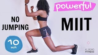BEGINNER FAT BURNING WORKOUT FOR - NO JUMPING MIIT!!! | Home Workout Koboko Fitness