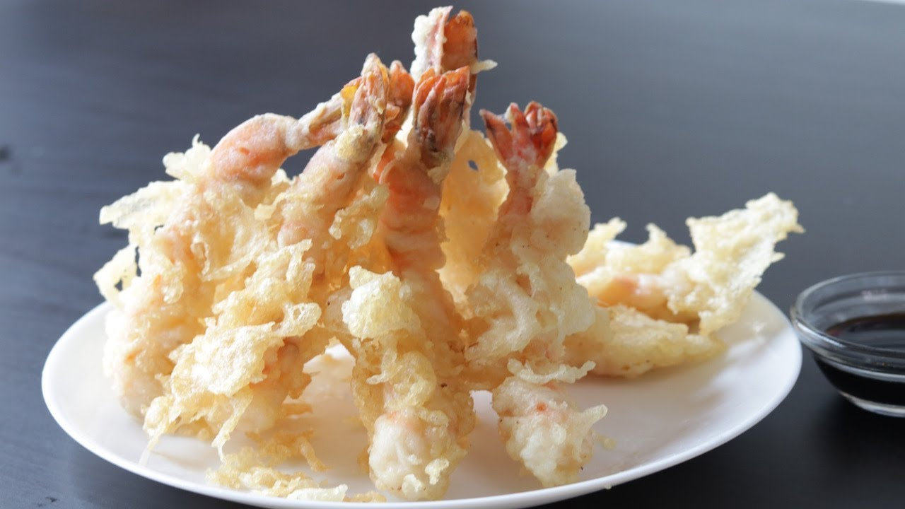 Shrimp Tempura Tempura Recipe Cooking A Dream Youtube