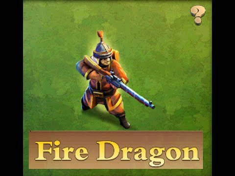 DomiNations - Enlightenment Age Archer (Fire Dragon) BIG FAIL?