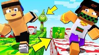 CORSA DEI LUCKYBLOCK di BABBO NATALE e GRINCH! - Minecraft ITA