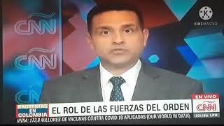 Entrevista al señor Director General, Mayor General Jorge Luis Vargas en CNN