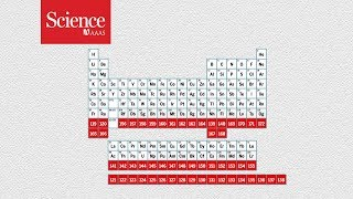 Where does the periodic table end?